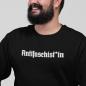 Preview: antifaschist antifaschistin antifaschist*in Sweater pullover 1