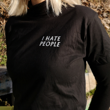 I hate people shirt tshirt