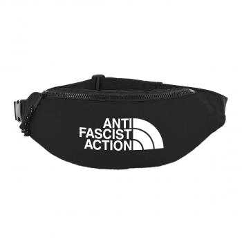 ANTI FASCIST ACTION - HIP BAG