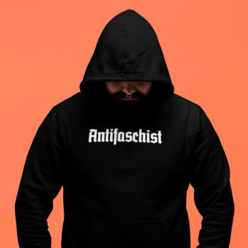 antifaschist antifaschistin antifaschist*in Hoodie 2