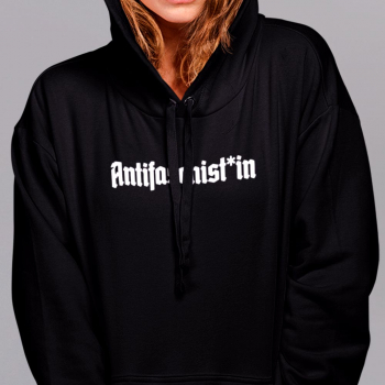 antifaschist antifaschistin antifaschist*in Hoodie 5