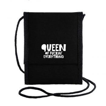 queen of f_cking everything pusher bag recycled shoulder bag recyclng polyester herr ganze