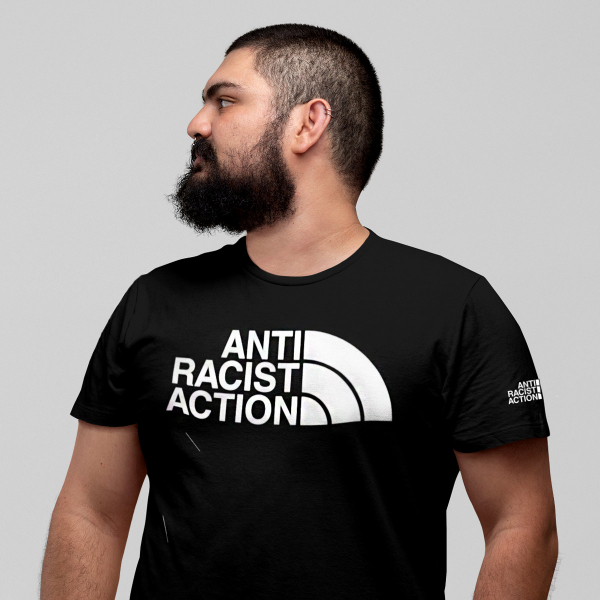 anti racist action t shirt