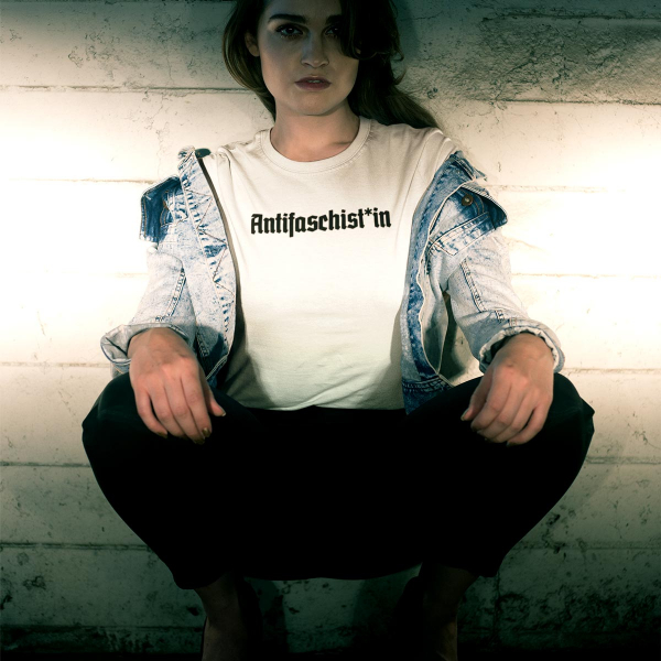 antifaschist antifaschistin antifaschist*in tshirt 3