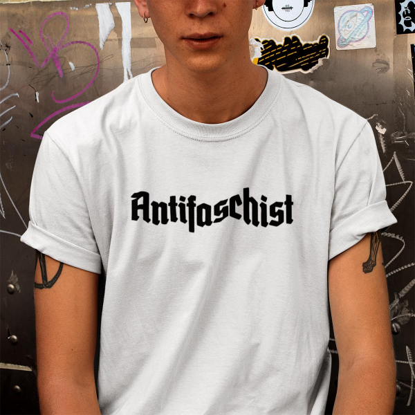 antifaschist antifaschistin antifaschist*in tshirt 2