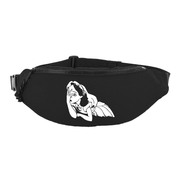 facepalm alice wonderland meme breast bag hip bag fanny pack schultertasche bauchtasche