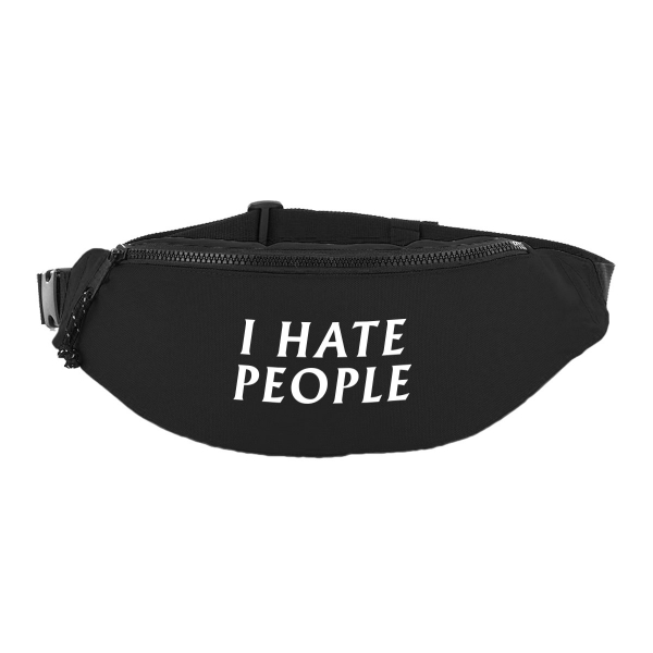 I hate people breast bag hip bag fanny pack schultertasche bauchtasche